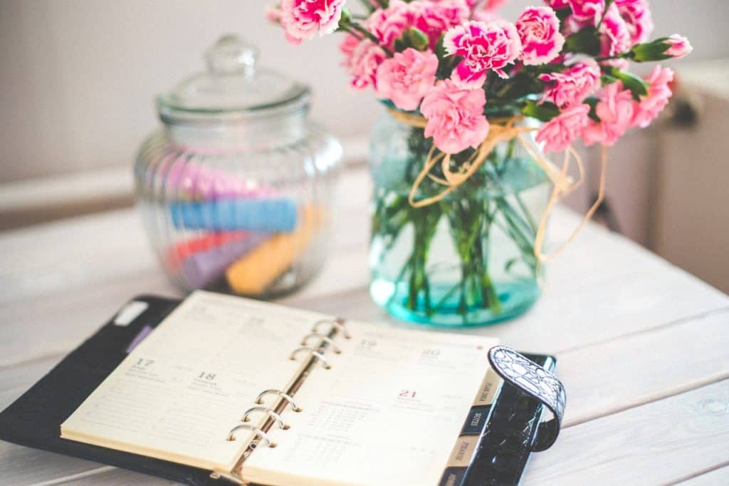 Steps for Financial Freedom - Organize Each Day in Advance