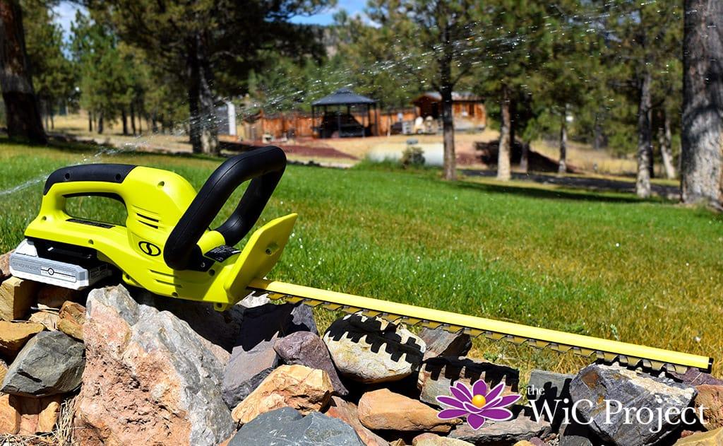 Sun Joe 24-Volt iON+ Cordless Hedge Trimmer Kit Review