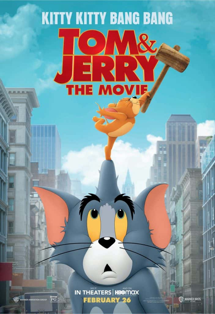 Tom & Jerry The Movie Poster