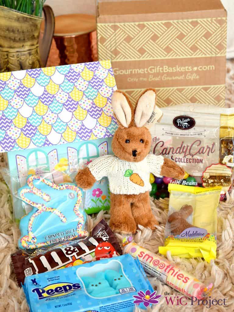 GourmetGiftBaskets.com Hippity Hoppity Easter Gift Basket