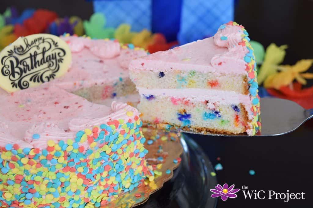 Best Birthday Cake Delivery from Bake Me A Wish - Strawberry Funfetti Cake