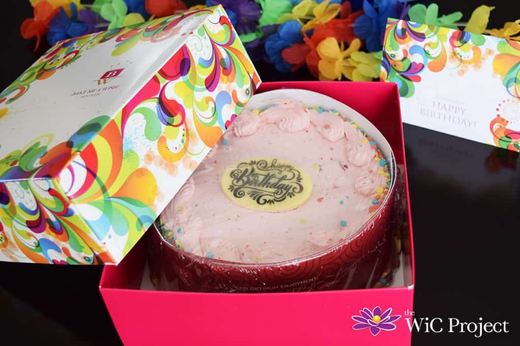 Bake Me A Wish Birthday Cake Delivery Gift Box