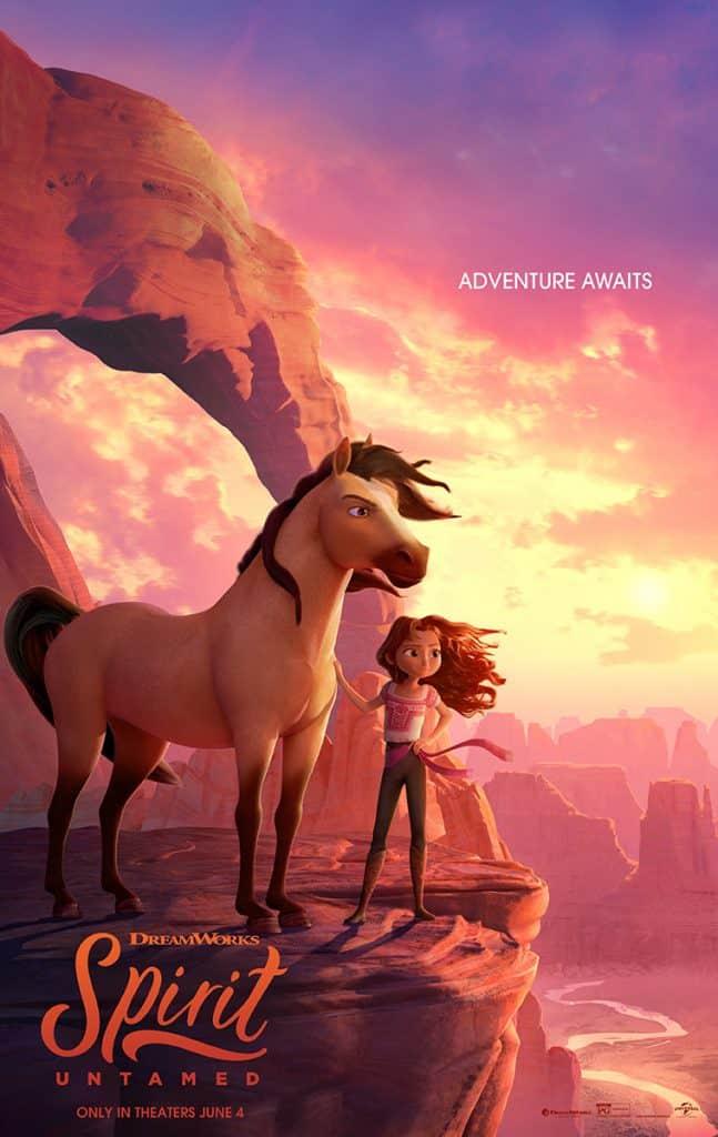 Dreamworks Spiritn Untamed Movie Poster