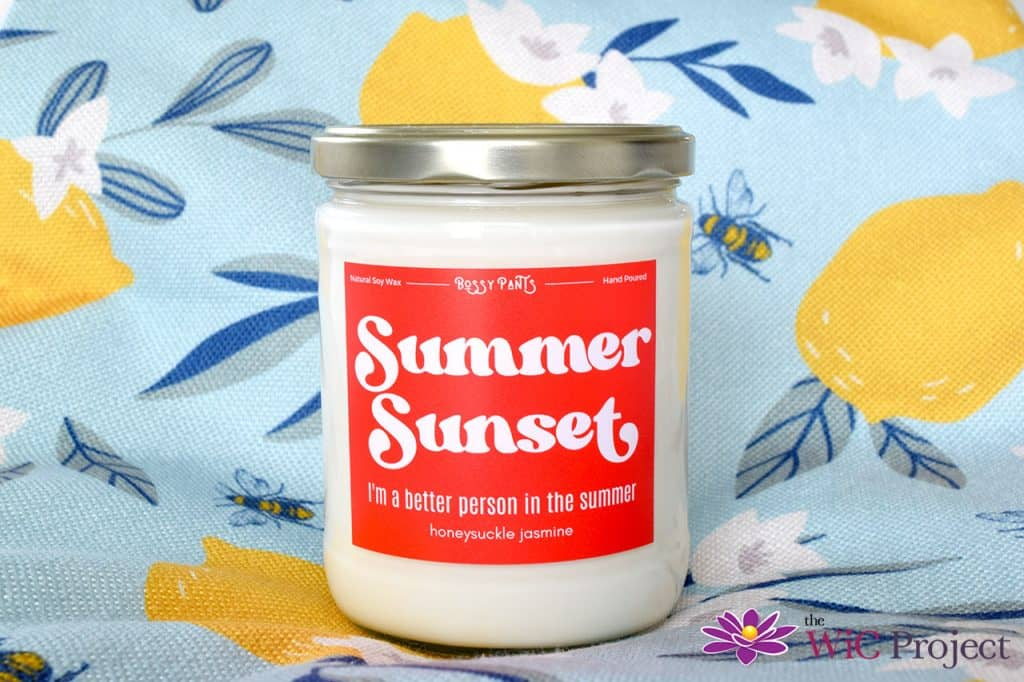 Bossy Pants Candles Summer Sunset